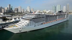 Crucero Trasatlantico con  MSC Divina