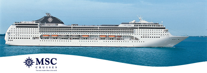 crucero transatlántico MSC Opera