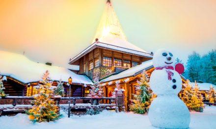 Fin de año en Kuusamo ( Finlandia )