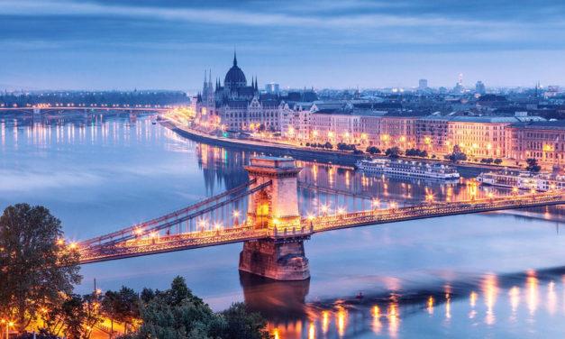 Puente de Diciembre 2017 en Budapest