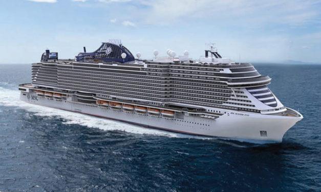 La nueva joya del Mediterraneo, MSC Seashore